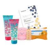 Kit Skincare Limpeza Facial E Cuidados Com A Pele Ruby Rose