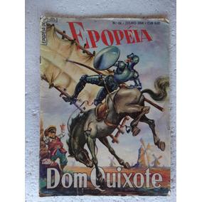 Epopéia Nº 24! Ebal Jul 1954! Dom Quixote!