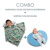 Cojin Lactancia Mas Sleeping Con Cremallera Y Bolsillera