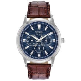 Reloj Citizen 61034 Bu2070-12l Ecodrive Hombre Correa