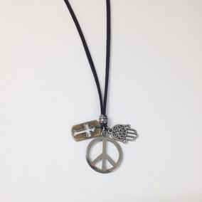 Colar Simbolo Da Paz Masculino - Colar Masculino no Mercado Livre Brasil 5f3046b4f9
