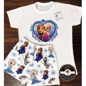 1030cd3b2 Pijama Frozen Disney Store - Ropa y Accesorios Blanco en Mercado ...