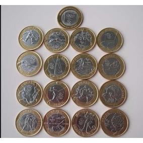Moedas Das Olimpíadas 2016 R$6,00 A Und