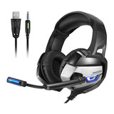 Headset Onikuma K5 Gamer Headphone Ps4 Xbox One Switch