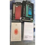 2 Iphone Se 32gb At&t Plata Y Rosa Estetica 10