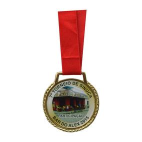 Medalha Esportiva Personalizada Metal 250un