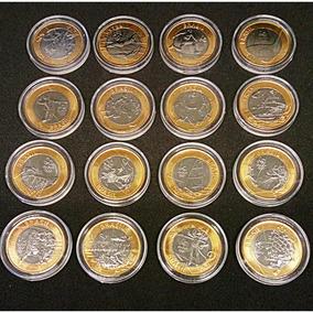Coleção Completa Das 16 Moedas Olimpíadas Nas Capsulas ** Fc
