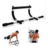 Barra Ejercicios Iron Gym Puerta Multifunción Ejercicios