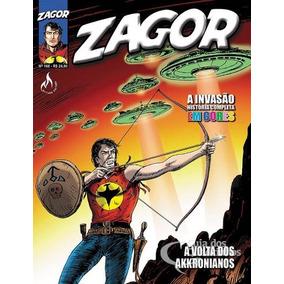 Revista Hq Gibi - Zagor 168 História Completa Em Cores