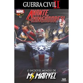 Hq Avante, Vingadores! Nº 13 Ed Dez/2017 - Ms. Marvel