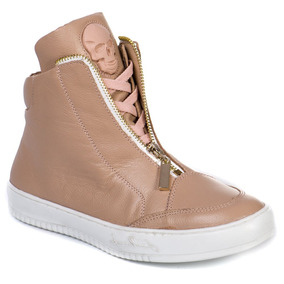 538db5740 Tênis Fitness Labellamafia Rose Sneakers 20400 Couro