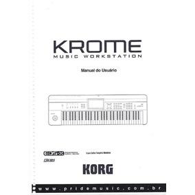 Manual Korg Krome Português(pdf)