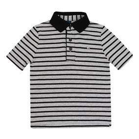 Camiseta Polo Lacoste Infantil - Calçados, Roupas e Bolsas Cinza ... 103f37899e