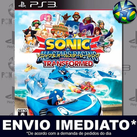 Jogo Ps3 Sonic & All Stars Racing Transformed Ps3 Play 3