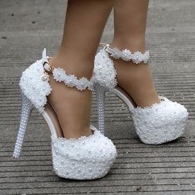 Sapato Salto Alto Cristal Importado