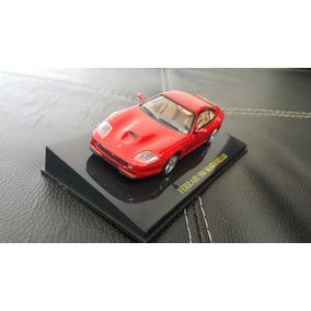 Miniatura Ferrari 550 Maranello Vermelha Pole Red Sangue F1