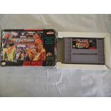 Super Wrestle Mania De Super Nintendo