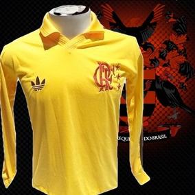 Camisa Retrô Goleiro Raul Flamengo Ml. 12b4f2ce7a53b