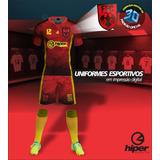 Uniforme De Futebol 20 Camisas+20 Calções Em Dri + 20 Meiões e6d6fb50adddc