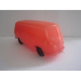 Carro Kombi Miniatura Plástico Bolha Mimo