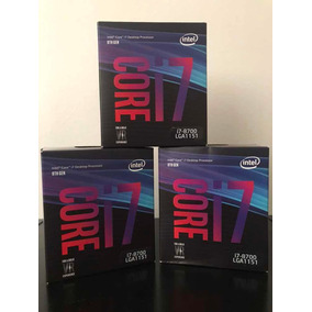 Processador Intel Core I7 8700 3.2ghz Lga1151 8ªg Parcelado