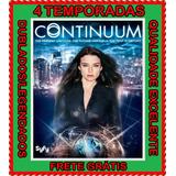 Serie Continuum (1ª A 4ª Temporada) + Frete Grátis