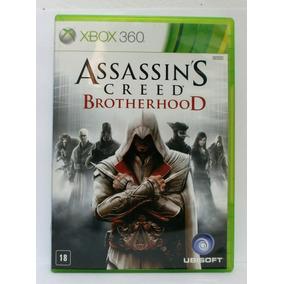 Assassins Creed Brotherhood Jogo Xbox 360 Usado Midia Fisica