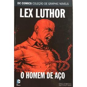 Frete Gratis - Dc Comics Hq Lex Luthor O Homem De Aço