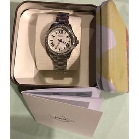 d34bc22fdd8a Reloj Fossil Para Mujer Plateado - Relojes - Mercado Libre Ecuador