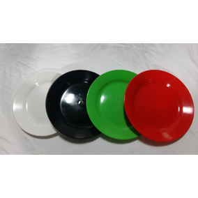 Platos Plásticos Redondos - Somos Fabricantes!!!