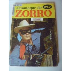 Almanaque De Zorro Para 1962 Ebal Ótimo !