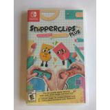 Snipperclips Plus Nuevo Y Sellado Para Nintendo Switch