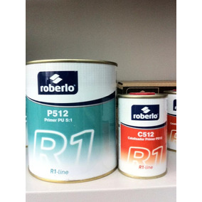 Kit Primer Roberlo P512 Pu 5/1 Cinza 750ml + Catalisador