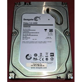 Seagate Pipeline Video St2000vm003 2tb 3.5