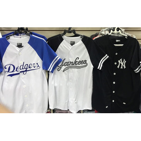 Camisa Camiseta New York Yankees La Dodgers Mlb Baseball Ny 55acab63a14