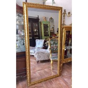 d632cd649e5 Espelho Com Moldura Dourada ( Peça Linda )