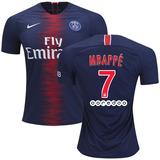 Playera Jersey Paris Saint Germain Psg 2018-19, #29 Mbappe