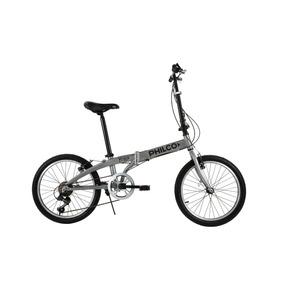 Bicicleta Plegable Philco Rodado 20 Aluminio Gcfa20vn060u