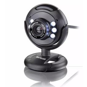 Webcam Multilaser Plug E Play 16mp Usb Preta Wc045