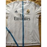 Camisa Do Real Madrid, Tam G, 2015/16, Cr7, Usada