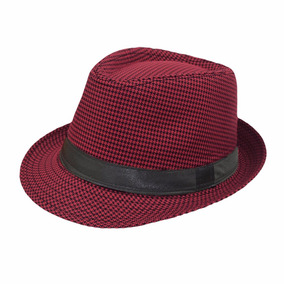 Sombrero Ala Corta Vino Unisex Vintage Hipster F-268