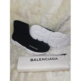 Tenis Gucci Balenciaga Speed Unisex Negros Envio Gratis