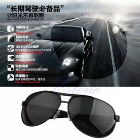 Lindo Óculos De Sol Masculino Preto Com Armação De Metal - Óculos no ... 07318a0514