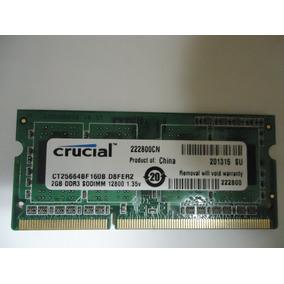 Vendo Memorias Ram Laptop Ddr3 2gb, Ddr2 1gb, Ddr2 512mb