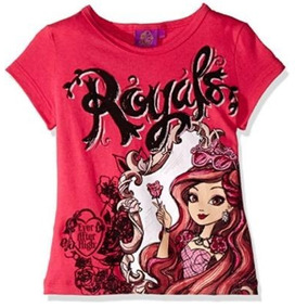 Playera Royals Ever After High Rosa De Niña Talla 4