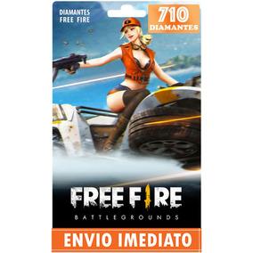 Free Fire 645 Diamantes +65 Bônus (710) Recarga P/ Conta