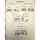 Manual De Partes Camion Camioneta Ford 1960 Original De Epoc