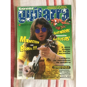 Revista Cover Guitarra N°24 Malmsteen No Brasil