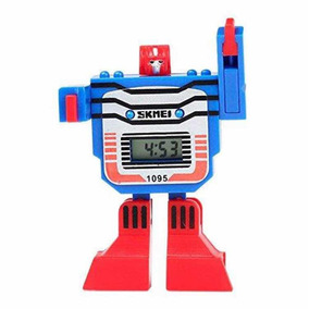 Reloj Para Niño Transforme Robot