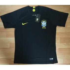 Formidable Jersey Brasil Portero Negro Mundial Rusia 2018 d9901f3f31dfe